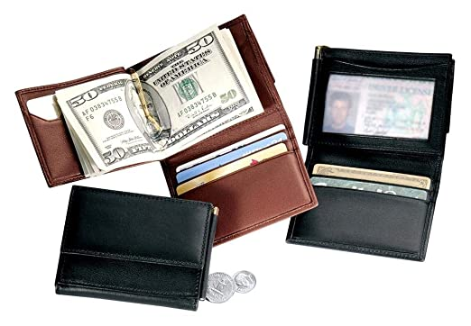 315283eee6bd Royce Leather Men s Money Clip Wallet at Amazon Men s Clothing store   Cosmetic Bags