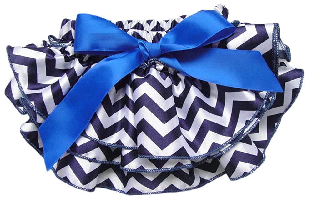 AvaCostume Satin Baby Ruffle Bloomers Diaper Covers Variety of Colors /& Sizes
