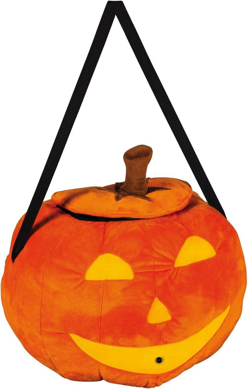 "Evergreen Flag Halloween Spooky Black Cat Jack-O-Lantern Pumpkin Motion-Activated Door Décor - 16.75"" Wide x 4"" Depth x 17.5"" High"