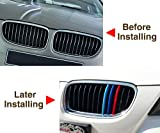 VCiiC 3 Colors ABS 3D M Car Styling Front Grille