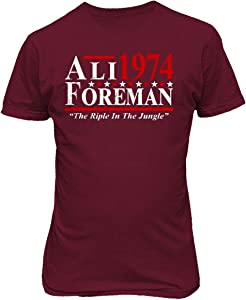 Baku Apparel Boxing Ali - Foreman The Rumble in The Jungle The Greatest Tshirt
