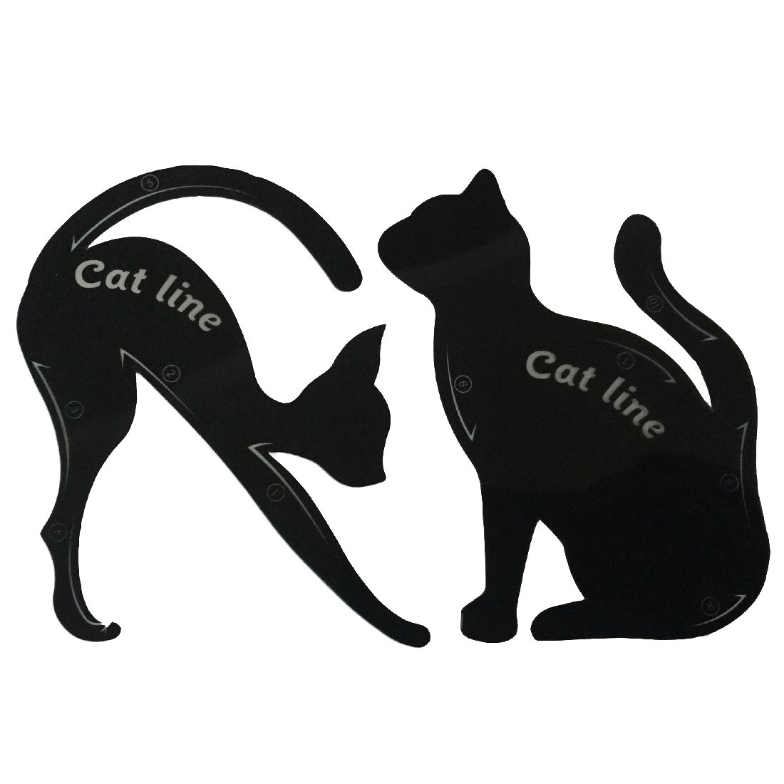 Cat Eye Template | Amazon Com Makeup Cat Eye Eyeliner Stencil Eyeliner Models