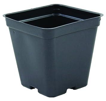 Amazon Com Flower Pots In Bulk 3 5 Wide X 3 5 Deep P86 Black