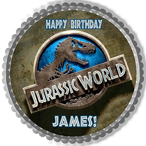 Jurassic World - Edible Cake Topper - 6