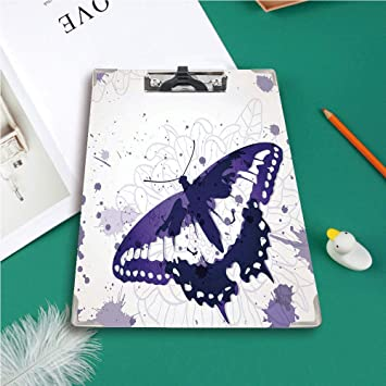 Personalised Teacher Teaching Assistant Butterfly  Clipboard