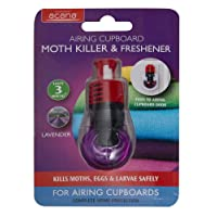 Acana 2675-1 Hanging Moth Killer and Lavender Freshener - White (Pack of 4)