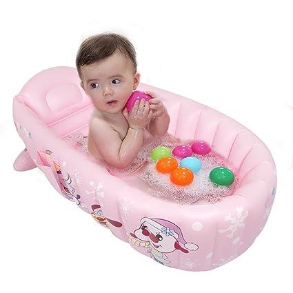 WZLDP Bebé niño recién Nacido bañera Niño bebé Plegable bañera ...