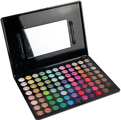 MUUZONING Paleta de Sombras de Ojos 88 Colores de Maquillaje Set Kit de alta Calidad Cosmético, Paleta De Sombras De Ojos Profesionales - Juego de Maquillaje Belleza de Regalos de Navidad #2: