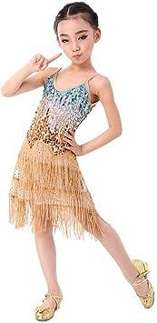 Amazon.com: Las niñas Dance Dress, SymbolLife Niños Fringe ...