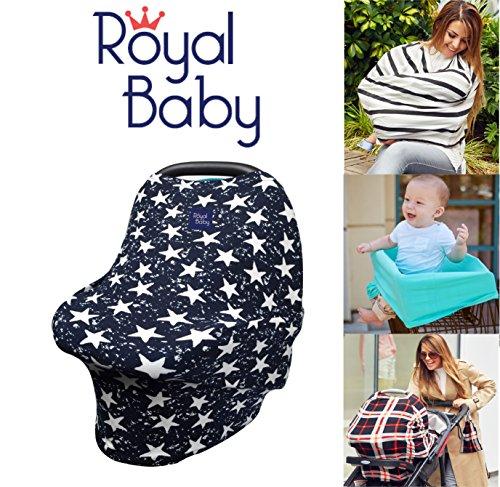 Royal Baby Car Seat Cover Multi-Use 5-1 Nursing Breastfeedin