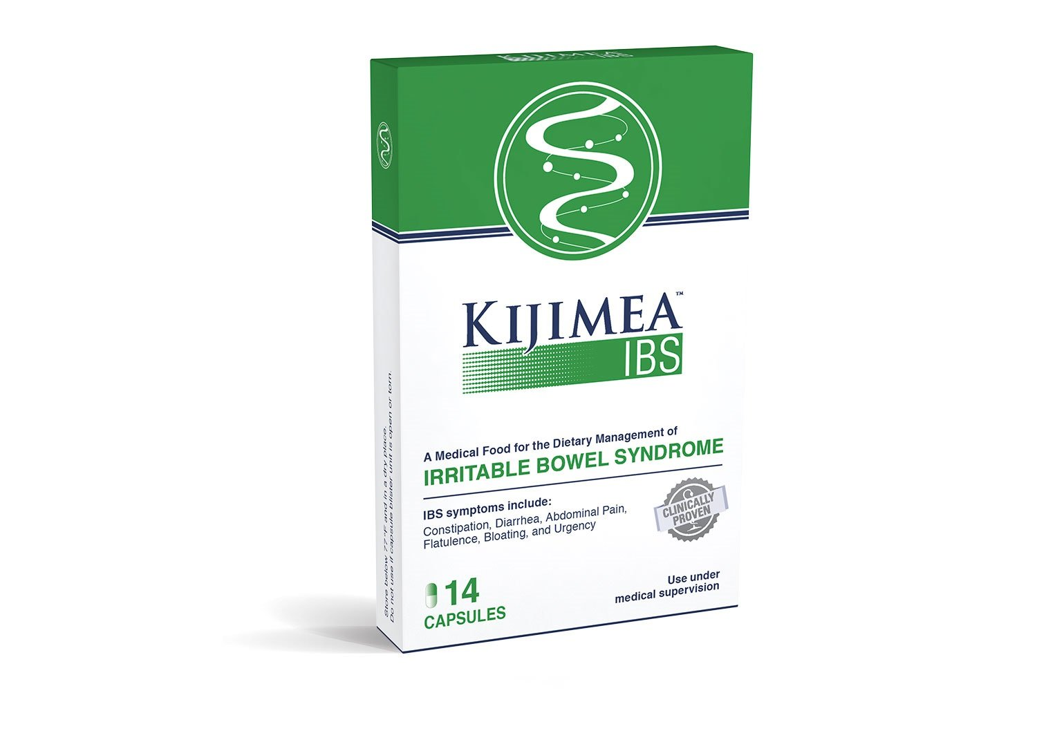Kijimea™ IBS, Medical Food for the Dietary Management of Irritable Bowel Syndrome, 14 Capsules