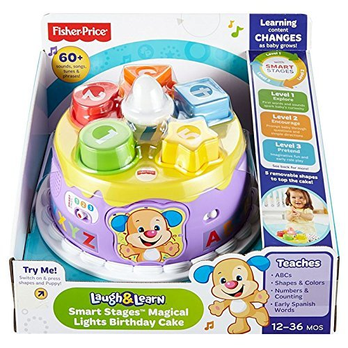 Fisher-Price Smart Stages Magical Lights Birthday Cake