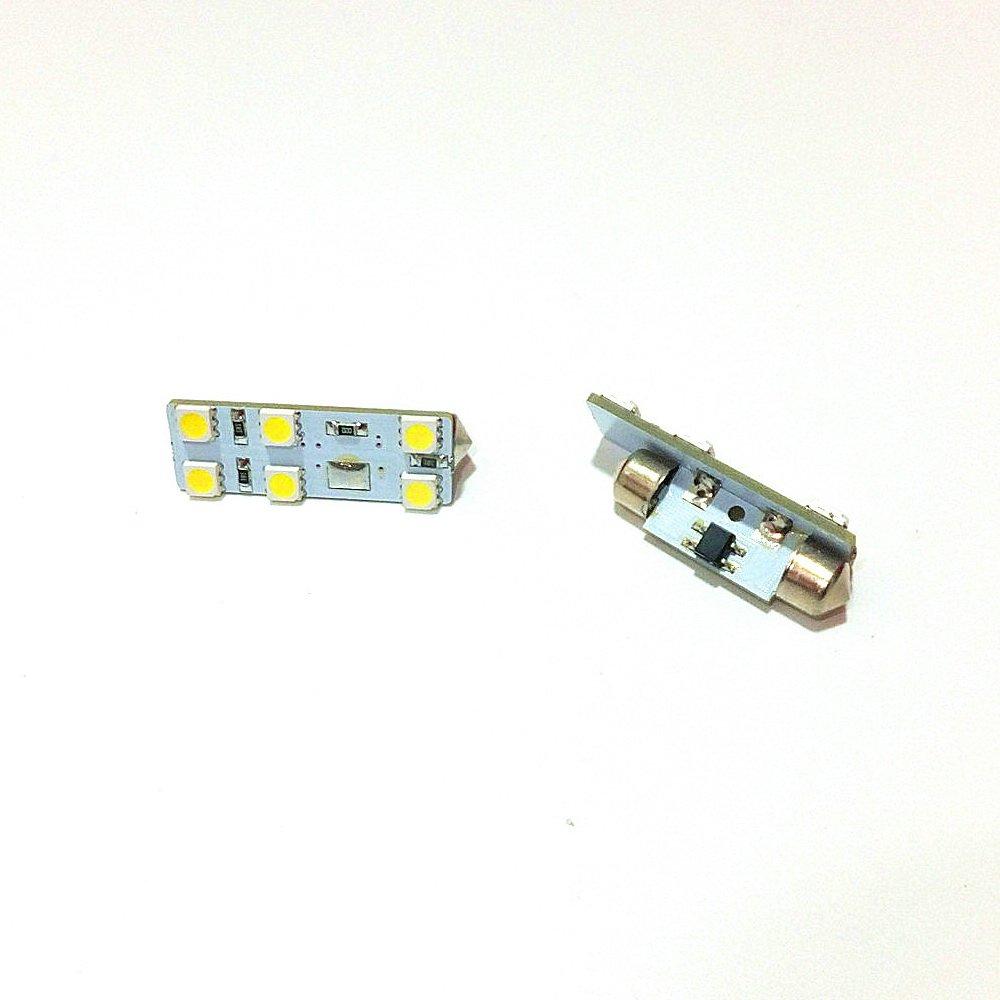 energ/ía de larga vida July King 8 pcs 6000 K 79leds 5050SMD LED Interior Lectura Luces para Seat Leon Mk3 2013+ instalaci/ón sencilla alto brillo Provincial