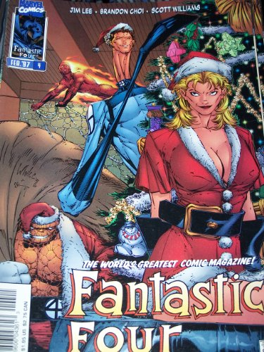 Fantastic Four #4 Vol 2 Variant Christmas Cover