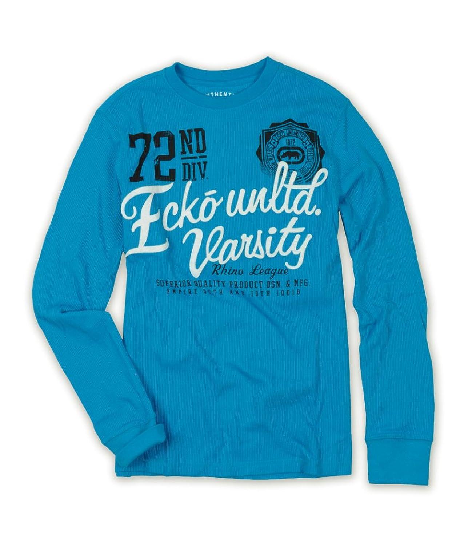 Ecko Unltd. Mens 72Nd Div. Varsity Rhino League Thermal Sweater