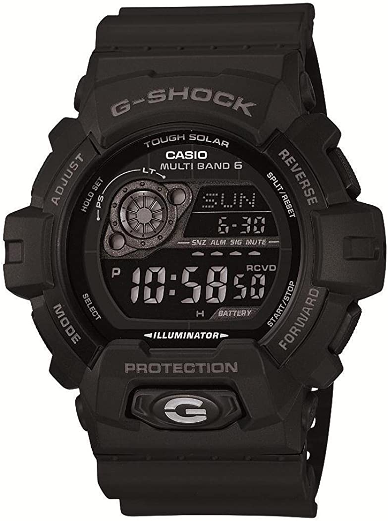 CASIO 腕時計 G-SHOCK ジーショック タフソーラー 電波時計 MULTIBAND 6 GW-8900A-1JF メンズ