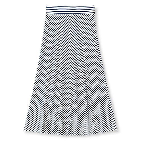girls-cherokee-multi-colored-stripes-chevron-print-pattern-maxi-long-skirt-x-small-4-5-blue-stripes