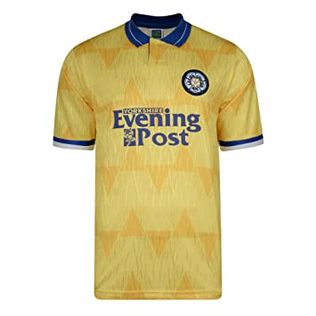 354d2455dc0 Official Retro Leeds United 1992 Away Retro Football Shirt 100% POLYESTER   Amazon.co.uk  Sports   Outdoors