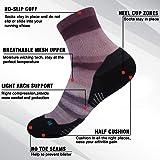 HUSO Running Pack Socks for Men Novelty Patterned