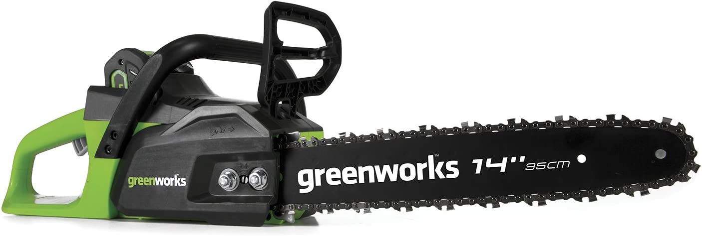 Greenworks CS40L210 14-Inch Cordless Chainsaw