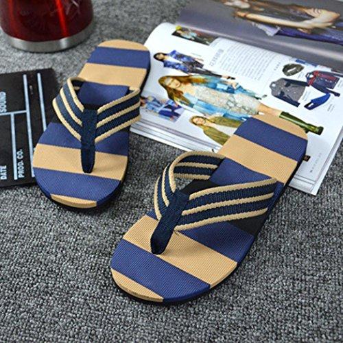 Infradito Da Uomo Estate Estate Infradito Sandali Con Infradito Pantofola Maschile Blu