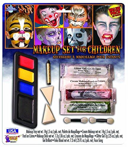 Forum Novelties Baby Makeup Set for Children, Multi Color, (Maleficent Costume Makeup Kids)