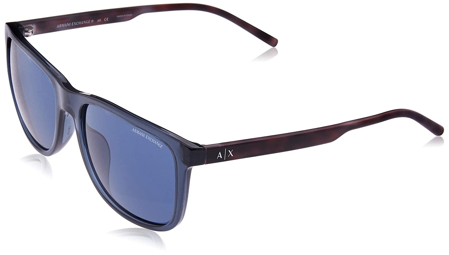 Amazon.com: Armani Exchange Mens Injected Man Sunglass ...