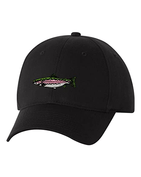 2fdb5195a Image Unavailable. Image not available for. Color: Rainbow Trout Custom  Personalized Embroidery Embroidered Hat Baseball Cap