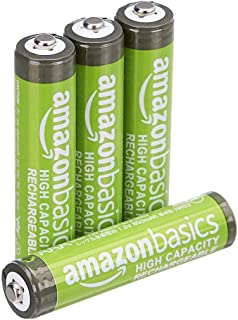 4 x Pilas Recargables AAA 630 mah 1.2v para Panasonic, baterias Recargables NiMH para telefonos inalambricos: Amazon.es: Electrónica