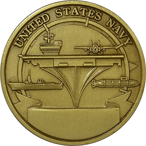 Navy Machinist's Mate Challenge Coin