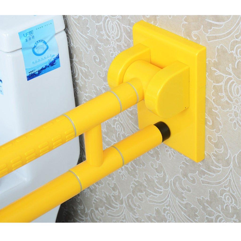 WF-YSFS Maniglione Guida di Sostegno for Anziani E Disabili Braccioli Pieghevoli Spessi Senza Barriere Guida di Supporto for La Sicurezza del Bagno 600mm Guida Pieghevole Standard Fissata al Muro