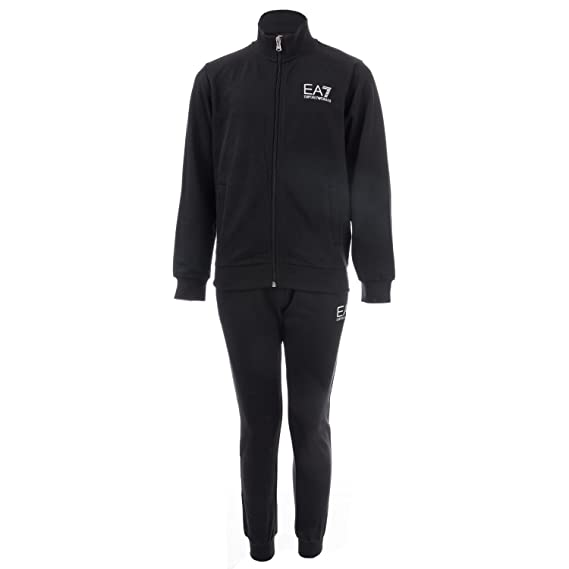 db1cd1dd Emporio Armani Boys EA7 Junior Boys Core ID Tracksuit in Black - 7-8: Emporio  Armani EA7: Amazon.co.uk: Clothing