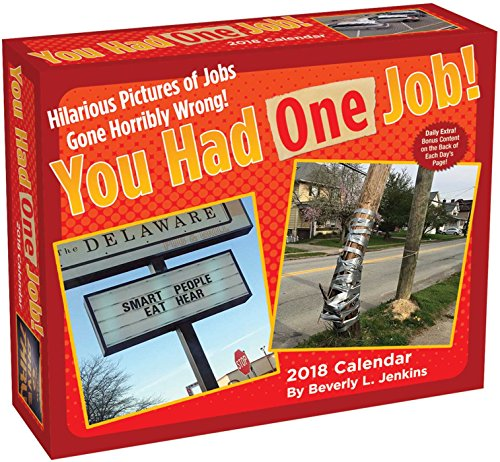 Books : You Had One Job 2018 Day-to-Day Calendar