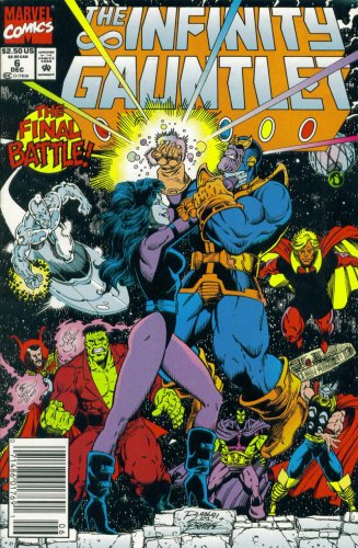 The Infinity Guantlet #6 : The Final Confrontation (Marvel Comics) for $<!---->