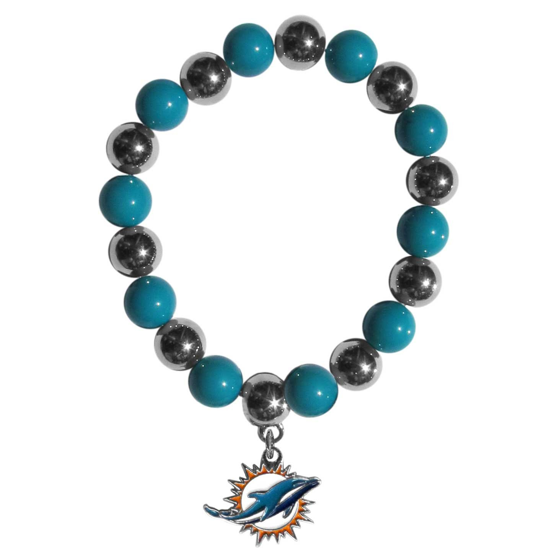 Siskiyou NFL Chrome Bead Bracelet