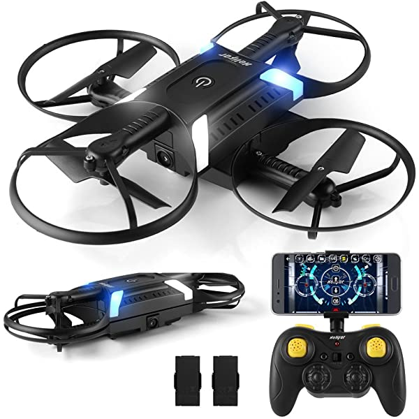 HELIFAR Mini Drone , F36 Mini RC Drone 2.4G 4 Canales 6-Axis Gyro ...