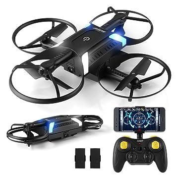 HELIFAR Drone con cámara HD App , H816 Mini Drone con cámara de ...