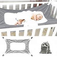 Hamaca para bebé para cuna, cama segura para recién nacido ajustable, cómoda, resistente y duradera, de 2 - a 12 meses