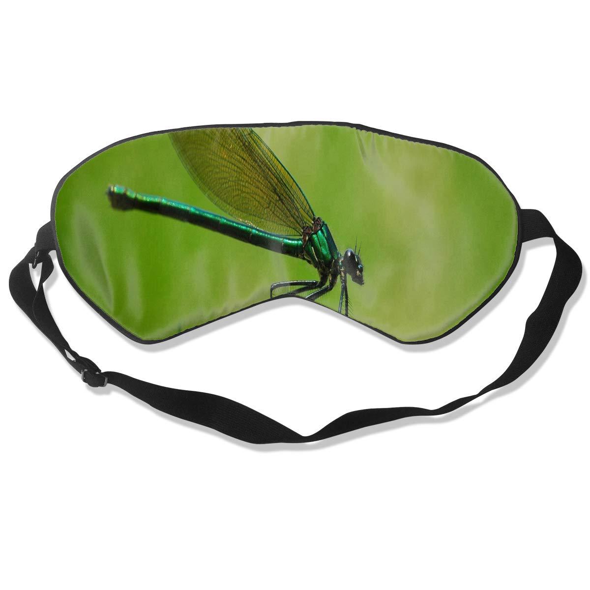 All agree スリープマスク トンボアイマスクカバー 調節可能なストラップアイシェード 旅行 ナップ 瞑想 目隠し用 One Size 色1 B07KGMXL8M
