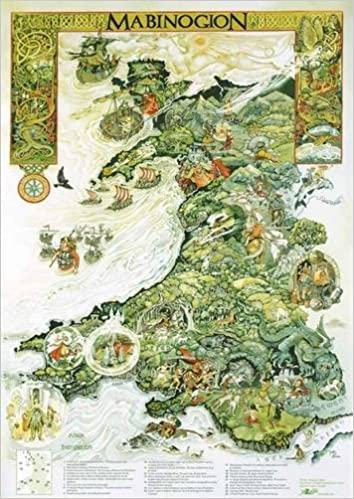 Mabinogi World Map.Poster Y Mabinogion Amazon Co Uk Margaret Jones 9781847712585 Books