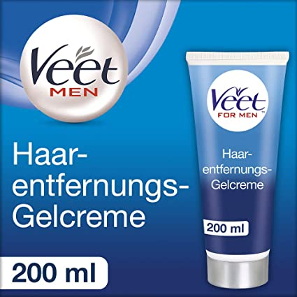Veet for Men Crema Depilatoria para hombre - Piel normal 200ml