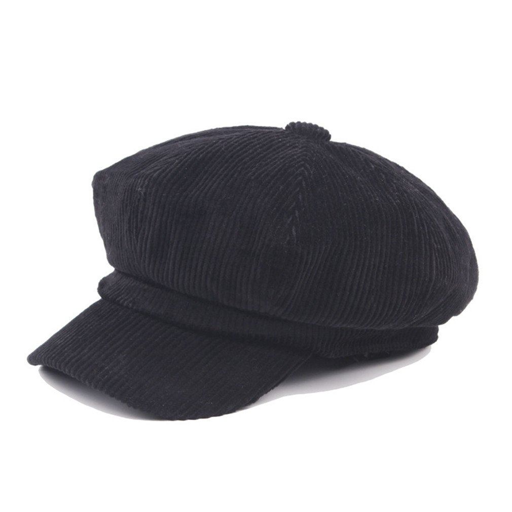 Amazon.com   Newsboy Cap Beret Female Autumn Winter Hats For Women Men  Octagonal Cap Painter Hat Vintage England Gorras Boina Feminina navy blue    Beauty 0bae1a40f385
