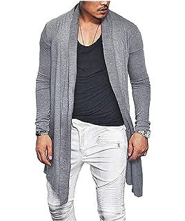 Fensajomon Men Casual Shirts Plaid Printing Color Block Long Sleeve Button Down Shirts