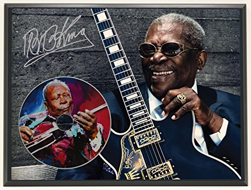 Bb King Autograph - B.B. King Limited Edition Signature Series Picture Disc CD Collectible Music Display Gift