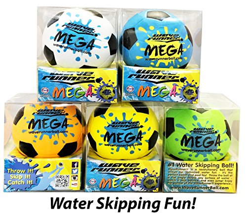 Wave Runner Mega Sports Miniature Water Soccer Ball 3.5