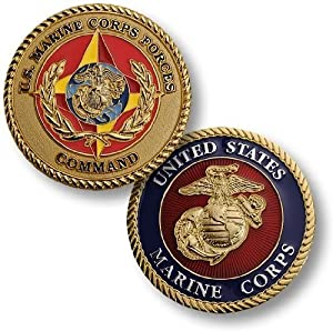 Forces Command Challenge Coin