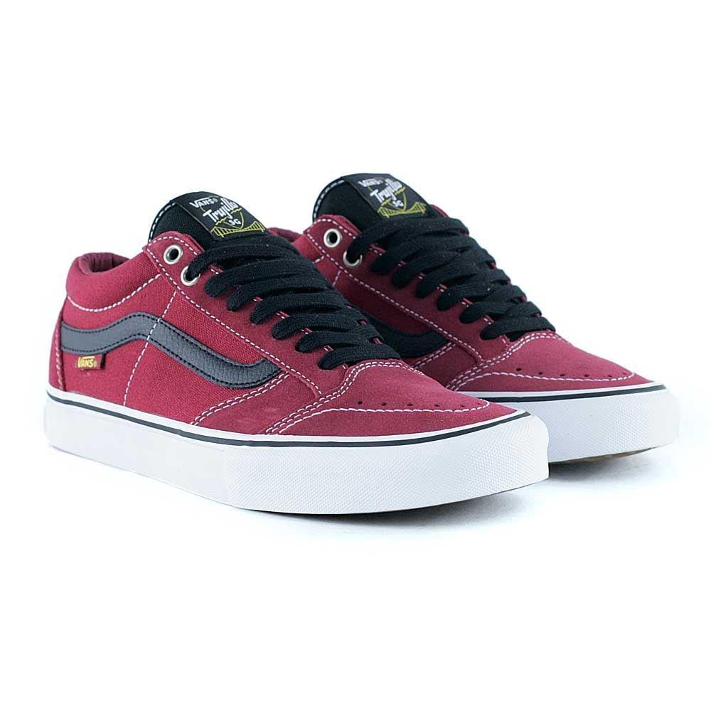 Vans TNT SG Pro Tibetan Red Skate Shoes  Amazon.co.uk  Shoes   Bags ab21900b6