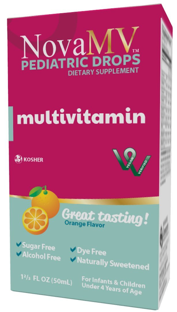 NovaFerrum - NovaMV Supplement for Infants and Toddlers Kosher and Vegan Verified - 50 mL