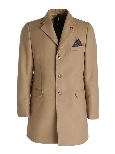 X-Cape Cappotto Cammello Uomo Mix  Amazon.it  Abbigliamento 3dbb18790d72