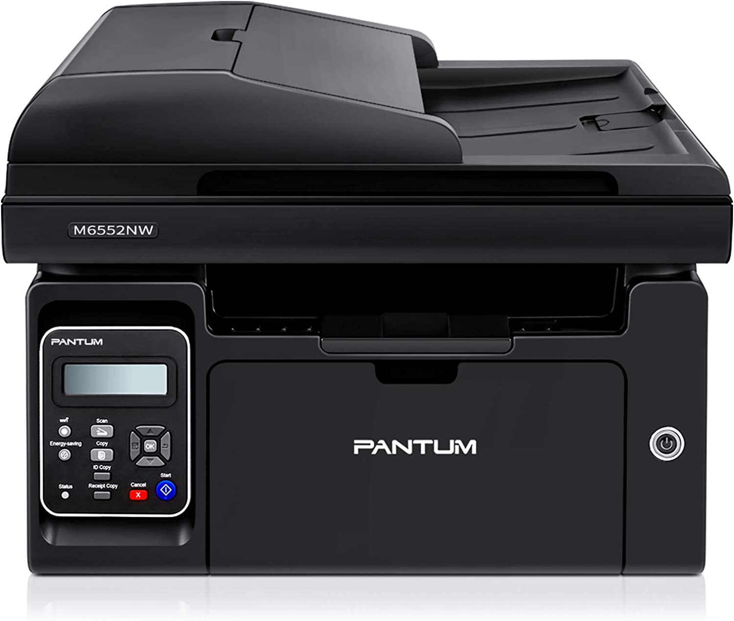 Pantum M6552NW Compact All in One Laser Wireless Monochrome Printer, Convenient Networking Mobile Printing, Improve Home and School Office Efficiency